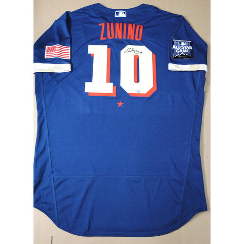 Photo of Mike Zunino 2021 Major League Baseball All-Star Game Autographed Jersey