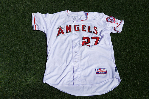 premium selection dfdb2 4a21e MLB Auctions   Mike Trout Game-Used Jersey