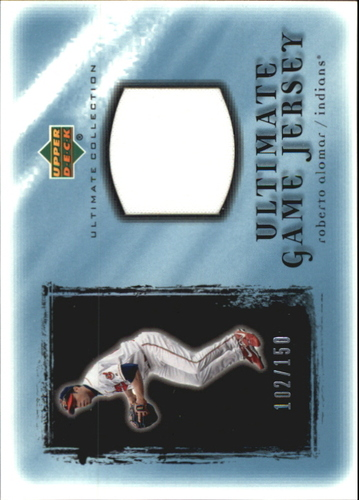 Photo of 2001 Ultimate Collection Game Jersey #URA Roberto Alomar