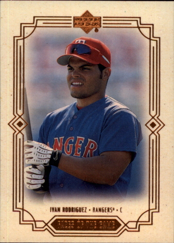 Photo of 2000 Upper Deck Faces of the Game #F17 Ivan Rodriguez