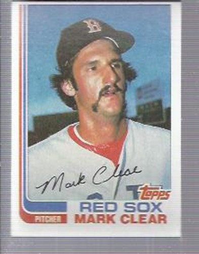 Photo of 1982 Topps #421 Mark Clear