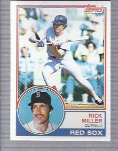 Photo of 1983 Topps #188 Rick Miller