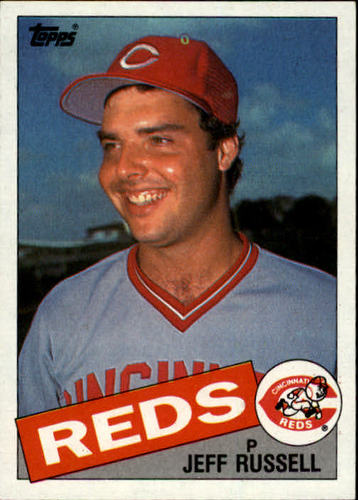 Photo of 1985 Topps #651 Jeff Russell