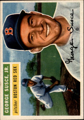 Photo of 1956 Topps #93A George Susce GB