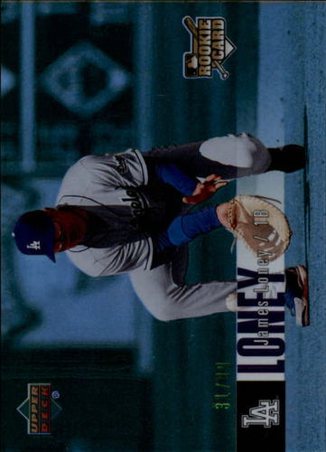 Photo of 2006 Upper Deck Special F/X Green #937 James Loney RC /99