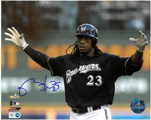Photo of Rickie Weeks Autographed 8x10 Photo