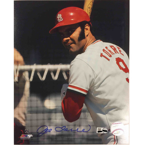 Cardinals Authentics: Joe Torre Autographed Photo