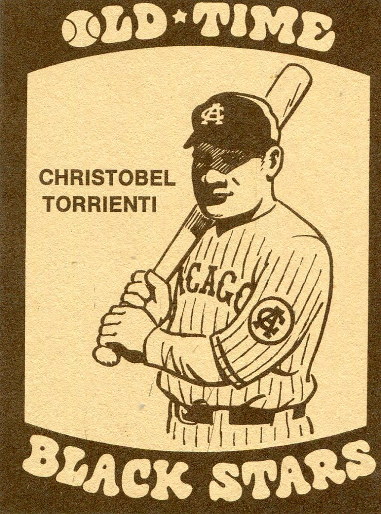 1974 Laughlin Old Time Black Stars #18 Christobel Torrienti