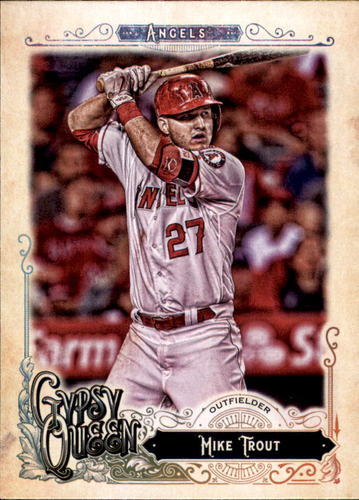 Photo of 2017 Topps Gypsy Queen #200A Mike Trout