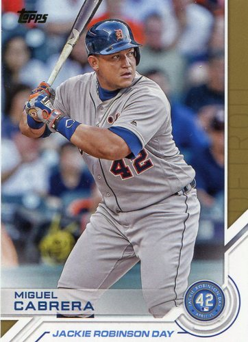 Photo of 2017 Topps Jackie Robinson Day #JRD7 Miguel Cabrera