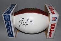 NFL - 49ERS JEREMY ZUTTAH SIGNED PANEL BALL