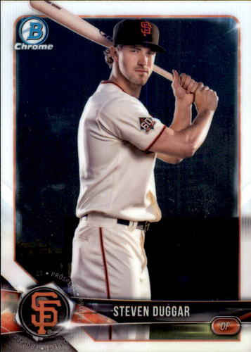 Photo of 2018 Bowman Chrome Prospects #BCP149 Steven Duggar