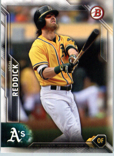Photo of 2016 Bowman #109 Josh Reddick