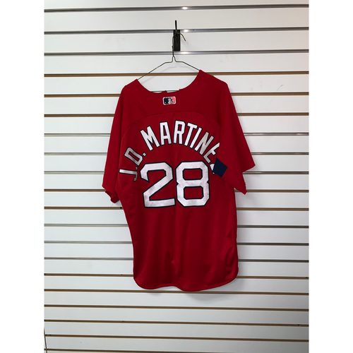 Photo of JD Martinez Team Issued Home Batting Practice Jersey