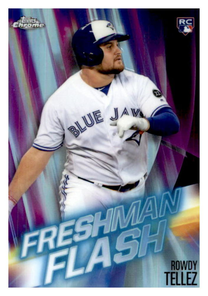 2019 Topps Chrome Freshman Flash #FF7 Rowdy Tellez