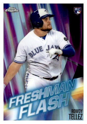 Photo of 2019 Topps Chrome Freshman Flash #FF7 Rowdy Tellez