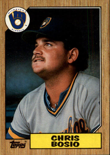 Photo of 1987 Topps #448 Chris Bosio RC