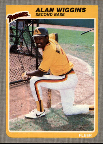 Photo of 1985 Fleer #48 Alan Wiggins