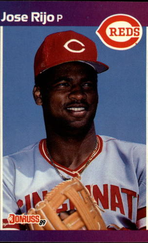 Photo of 1989 Donruss #375 Jose Rijo