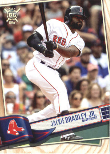 Photo of 2019 Topps Big League #207 Jackie Bradley Jr.