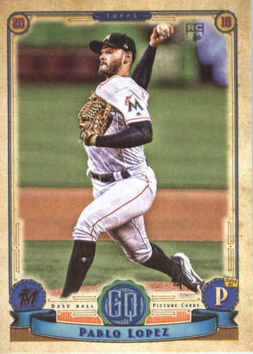 Photo of 2019 Topps Gypsy Queen #290 Pablo Lopez RC