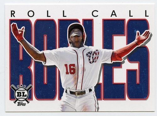 Photo of 2020 Topps Big League Roll Call #RC6 Victor Robles