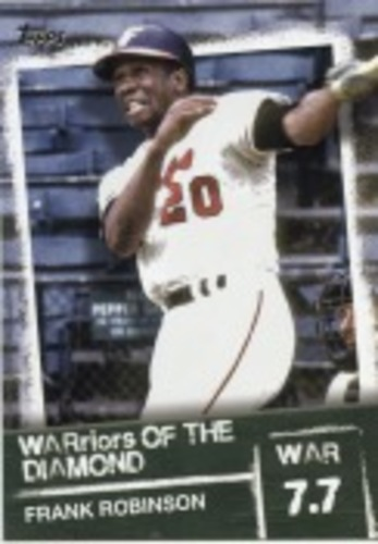 Photo of 2020 Topps Warriors of the Diamond #WOD43 Frank Robinson
