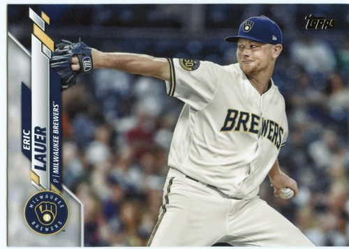 Photo of 2020 Topps #589 Eric Lauer