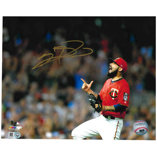 Photo of Minnesota Twins Autographed 8x10 Photo - Sergio Romo