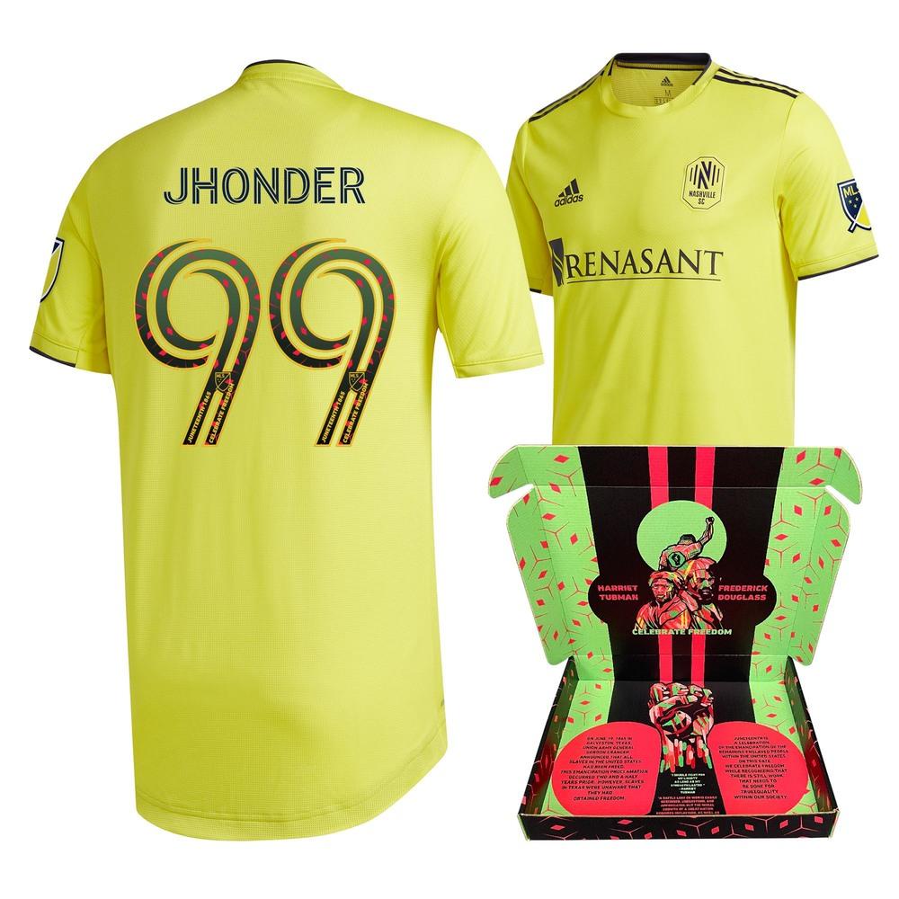 Jhonder Cadiz Nashville SC Match-Used & Signed