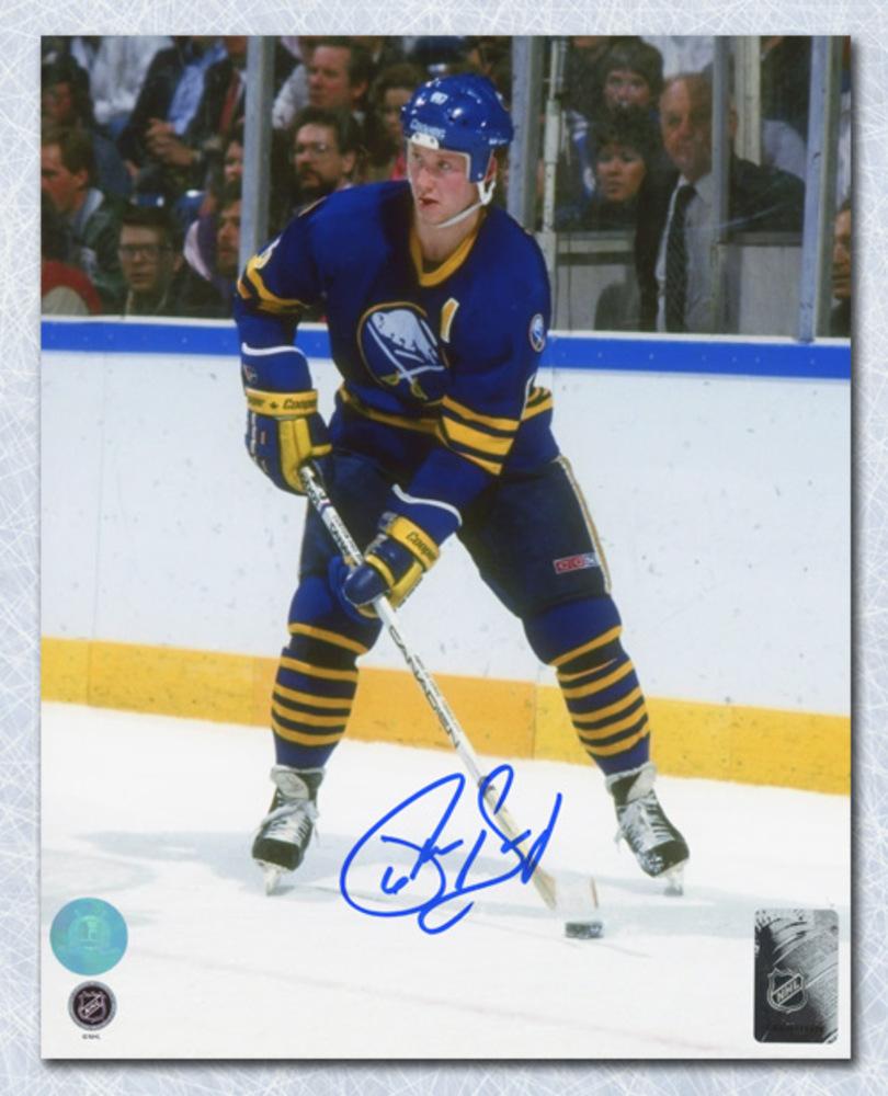 Phil Housley Buffalo Sabres Autographed USA Hockey Legend 8x10 Photo