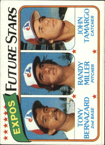 Photo of 1980 Topps #680 Tony Bernazard RC/Randy Miller RC/John Tamargo