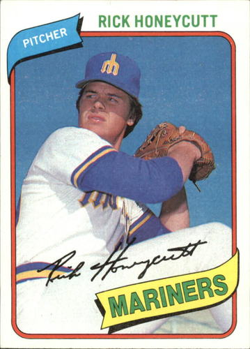 Photo of 1980 Topps #307 Rick Honeycutt