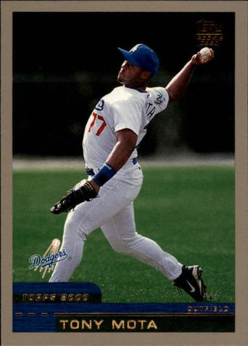 Photo of 2000 Topps Traded #T77 Tony Mota RC
