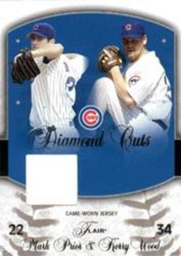 Photo of 2005 Flair Diamond Cuts Jersey #KW Kerry Wood