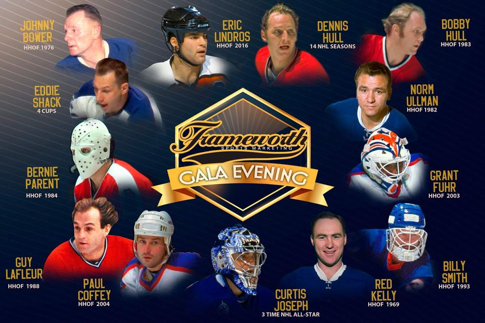 Eric Lindros 'Eat & Greet' Exclusive Gala Ticket Package for Two (2 Tickets) - Frameworth Gala Evening > May 5th, 2017