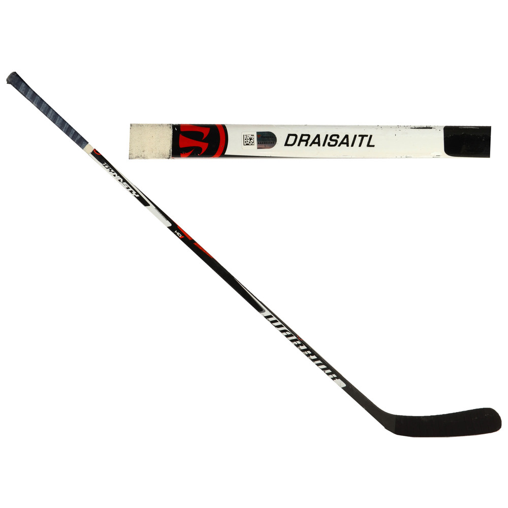 Leon Draisaitl Edmonton Oilers Team Europe World Cup of Hockey 2016 Game-Used Warrior Dynasty HD1 Hockey Stick