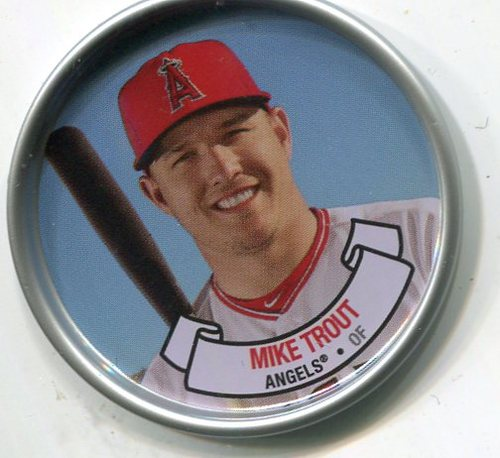 Photo of 2017 Topps Archives Coins #C19 Mike Trout