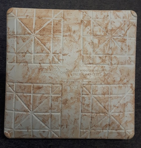 Authenticated Game Used Base - 2nd Base for Innings 1-3 for May 11-13, 2017 vs SEA. Toronto swept the 4 game series.