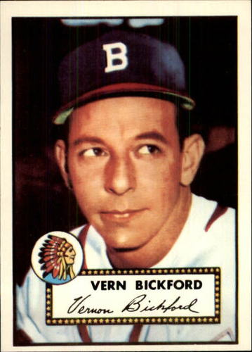 Photo of 1983 Topps 1952 Reprint #252 Vern Bickford