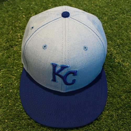 Photo of Game-Used Father's Day Cap: Tim Hill (Size 7 3/8 - HOU @ KC - 6/17/18)