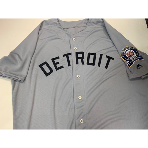 Photo of Team-Issued 1968 World Series Anniversary Jersey: Blank
