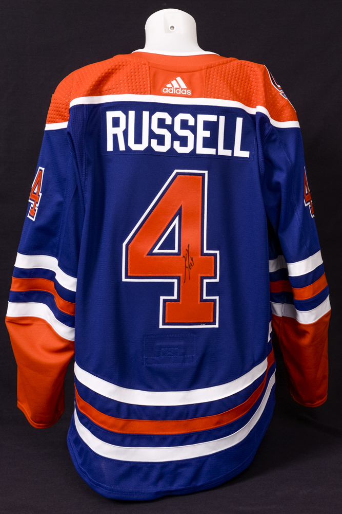 best authentic c4235 73119 Oilers 2018-19 Retro Jersey Anniversary Angeles Russell ...