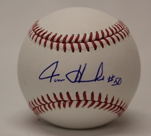 Autographed Tom Henke Baseball - Blue Jays Authentics