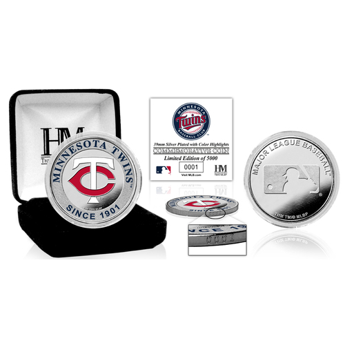 Photo of Serial #1! Minnesota Twins Silver Color Coin