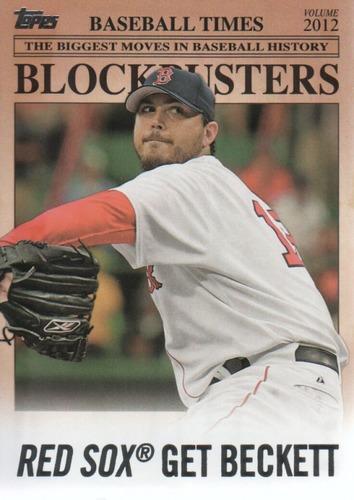 Photo of 2012 Topps Update Blockbusters #BB22 Josh Beckett