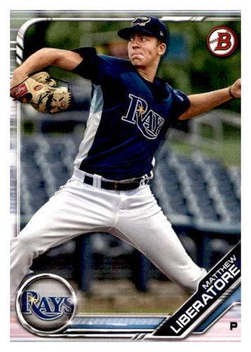 Photo of 2019 Bowman Prospects #BP112 Matthew Liberatore