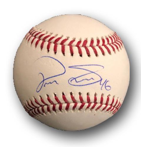 Photo of Pedro Strop Autographed Baseball