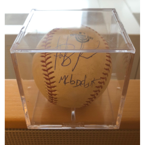 Photo of Compton Youth Academy Auction: Fernando Tatis Jr. MLB Debut Autographed Game-Used (3/28/19) Baseball