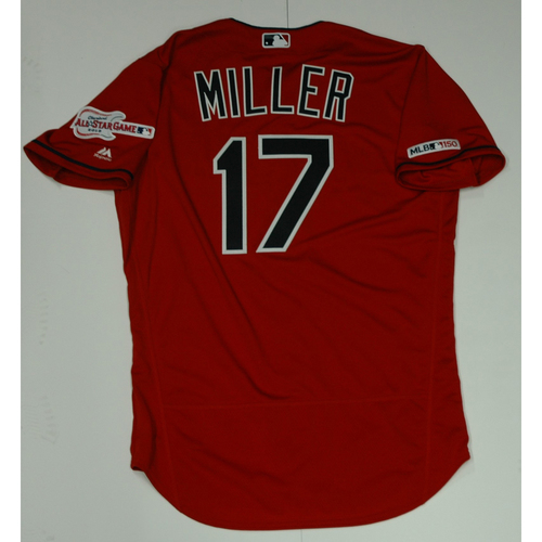 Photo of Brad Miller Team Issued 2019 Red Home Alternate Jersey